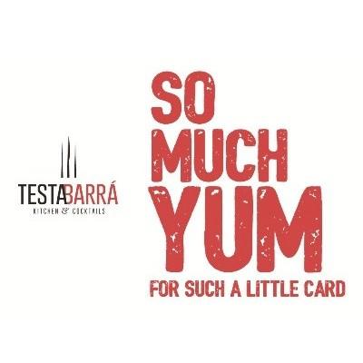 Testa Barra Gift Card